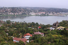 Mwanza e lago Victoria Immagine Stock Libera da Diritti