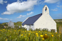 Mwnt Chapel. In Cardiganshire, wales Royalty Free Stock Images