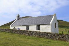 Mwnt Church Royalty Free Stock Image
