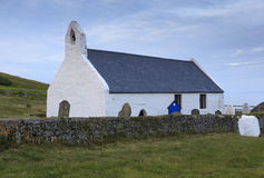 Mwnt Church Royalty Free Stock Photos
