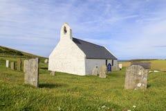 Mwnt kyrka, ceredigion Fotografering för Bildbyråer
