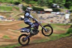 MX开放R1摩托车越野赛 免版税库存图片