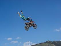 MX自由式摩托车越野赛 库存图片