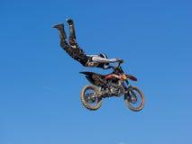 MX自由式摩托车越野赛 免版税库存图片