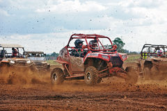 MX car start line Royalty Free Stock Photography