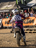 MX Freestyle Motocross Royalty Free Stock Photography