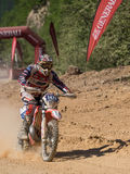 MX Motocross in Competition. Styria, Austria - June 7, 2015: Austria, EU - June 7th, 2015: Erzberg Rodeo 2015, Motocross Mekka for MX drivers around the world Royalty Free Stock Images