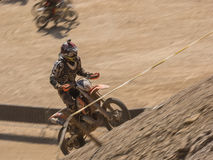 Mx-motocross i konkurrens Arkivfoton