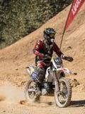 Mx-motocross i konkurrens Royaltyfri Foto