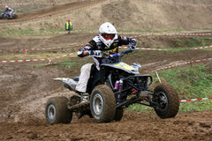 MX rider. East European MX Championship in Krusevac, Serbia. Date of race is 5. 09. 2010 Royalty Free Stock Images