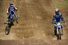 MX rider Royalty Free Stock Images