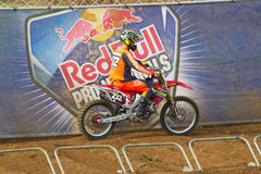 MX2 rider Royalty Free Stock Image