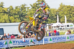 MX1 rider Grahame Irwin Stock Image