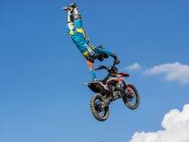 MX stylu wolnego Motocross Zdjęcie Royalty Free