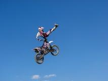 MX stylu wolnego Motocross Zdjęcia Royalty Free