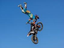 MX stylu wolnego Motocross Obraz Royalty Free
