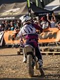 MX stylu wolnego Motocross Fotografia Royalty Free