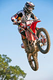 MX2 rider Adam Sterry Stock Images