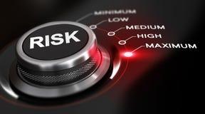 Máximo do risco Imagens de Stock Royalty Free
