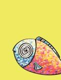 Myśląca ryba Fotografia Stock