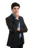 Myślący biznesowy mężczyzna Obraz Stock