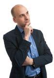 Myślący biznesowy mężczyzna Obrazy Stock