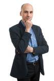 Myślący biznesowy mężczyzna Zdjęcia Stock