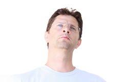 Myślący mężczyzna Fotografia Stock