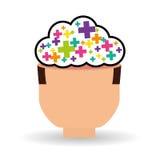 Myśl projekt, pozytyw i pomysłu pojęcie, Zdjęcie Royalty Free