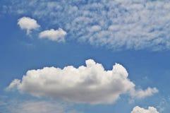 Myśleć chmury Zdjęcie Royalty Free