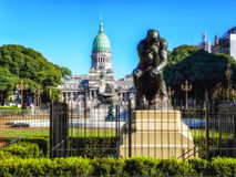 Myśliciel, Buenos Aires, Argentyna fotografia royalty free
