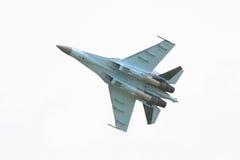 Myśliwiec odrzutowy odizolowywający Fotografia Stock
