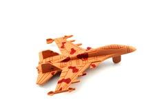 Myśliwiec odrzutowy zabawka Fotografia Royalty Free