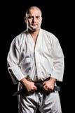 Myśliwski naciągowy karate pasek zdjęcia stock