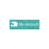 My account rectangle button Stock Photo