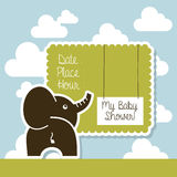 My baby shower Royalty Free Stock Photos