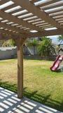 My backyard Royalty Free Stock Photo