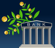 My Bank. High resolution jpeg included. All elements, textures, etc. are individual objects.No flattened transparencies Stock Image