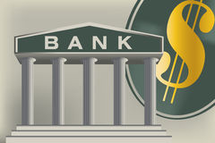 My Bank. High resolution jpeg included. All elements, textures, etc. are individual objects.No flattened transparencies Royalty Free Stock Images