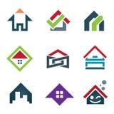 My Beautiful Sweet Home Icon Set Family Locator Stock Photos