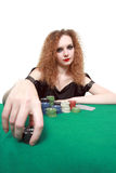 My bet poker isolated Stock Images