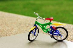 My bicycle toy Royalty Free Stock Image