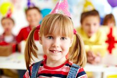 My birthday party Stock Photography