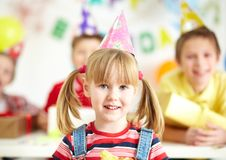 My birthday party Stock Images
