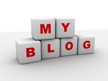 My blog Stock Photo