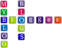 My Blog. Logo or blogger logo you can crop it Stock Photo