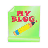 My Blog Royalty Free Stock Images