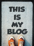 This is my blog Stock Photography