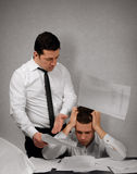 My boss is a bully Stock Photography