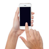 This is my brand new cell phone Royalty Free Stock Photo